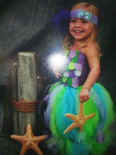 Mermaid Halloween costume