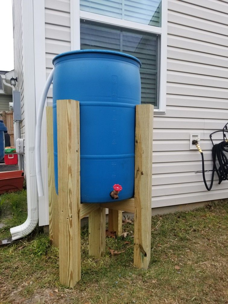 Rain Barrel Stand Diy Rain Barrel Stand Diy Rain Barrel Stand Rain Barrel