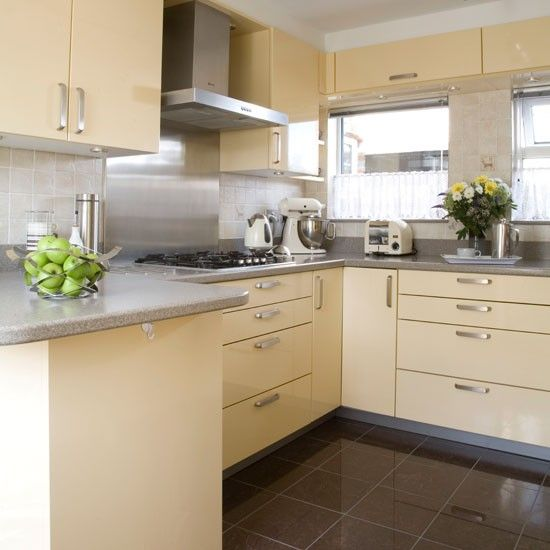 Cream Kitchen Ideas With Images Grey Kitchen Floor Quirky