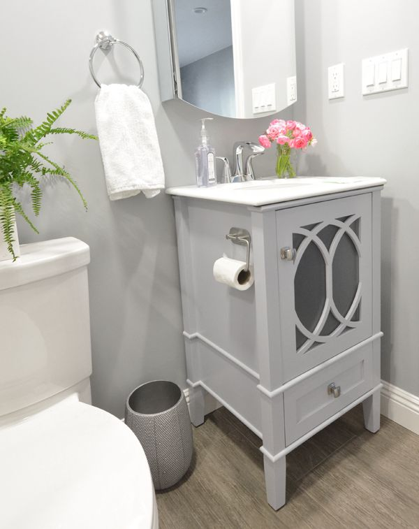 Photo of Basement Bathroom Addition | Centsational Style