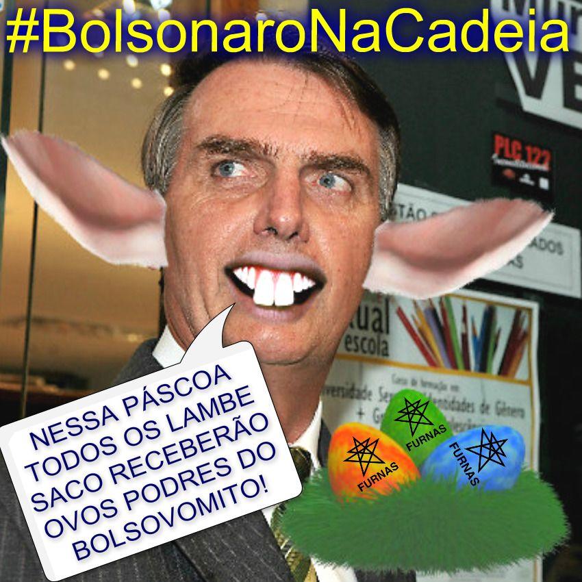#BolsonaroNaCadeia