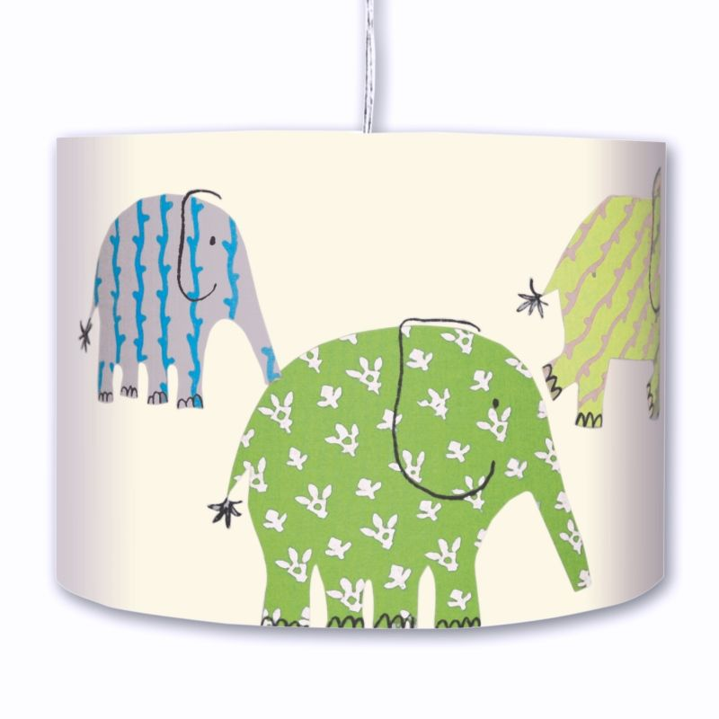 Designers Guild Hängelampe Elefanten grün