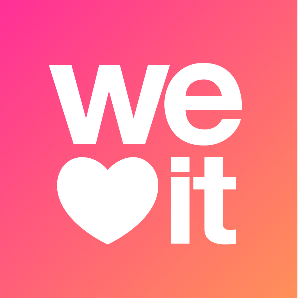 Weheartit icon square We heart it, App, New things to learn