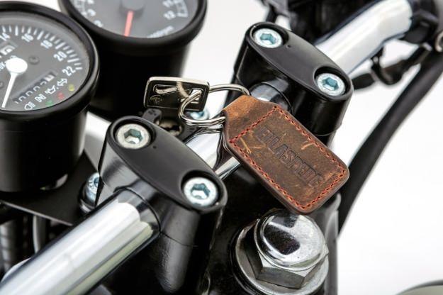 Honda GB250 customized by the Australian workshop Ellaspede.