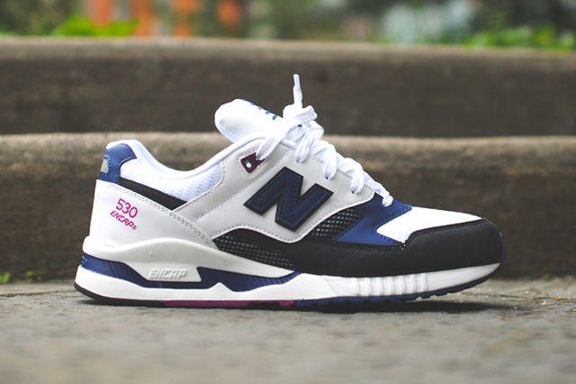 chaussures de séparation 107ab 54d2c NEW BALANCE 530 (OG NAVY | GQ clothing | Sneaker boots ...