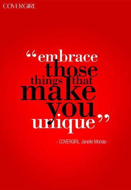 Imbrance Your Unique Beauty Quote Embrace Your Uniqueness