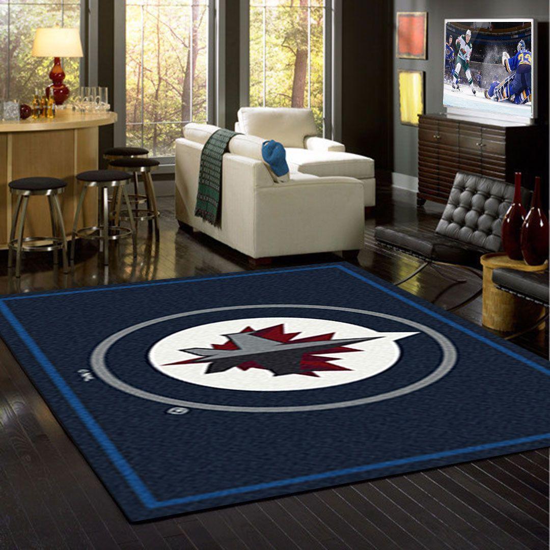 Winnipeg Jets NHL Team Logo Spirit Rug Chargers nfl, Nfl