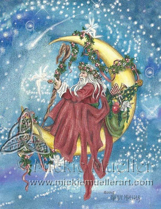 Mickie Mueller Magical Celebration Pinterest Yule