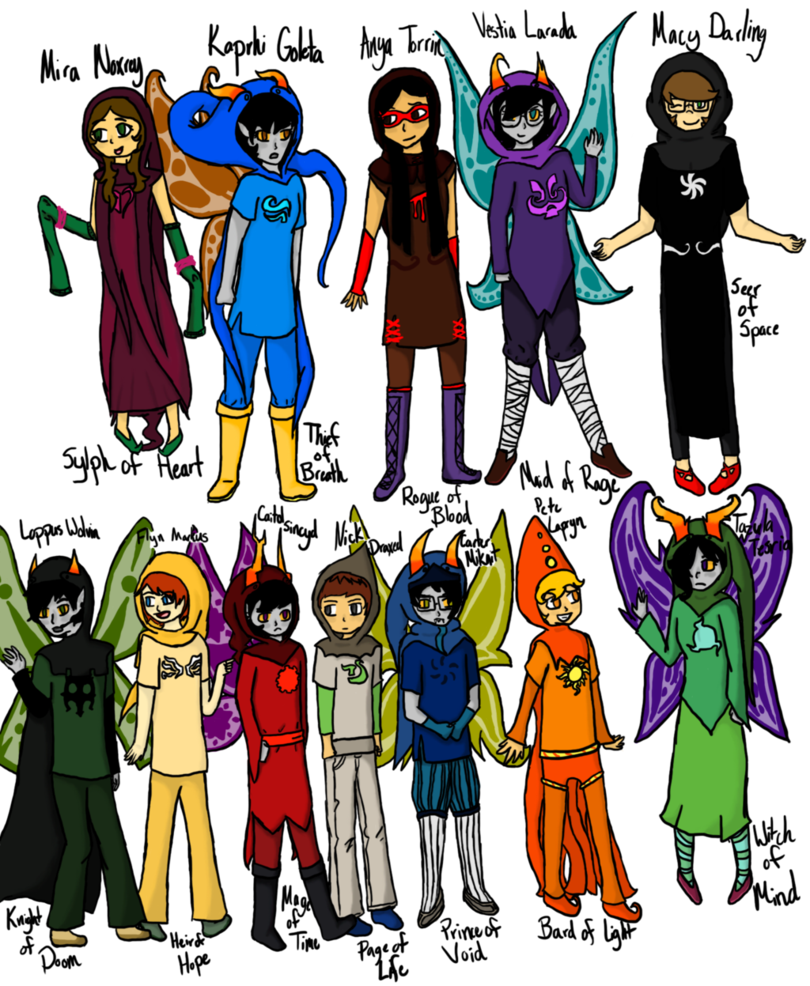 homestuck oc fanmade god tier - Google Search