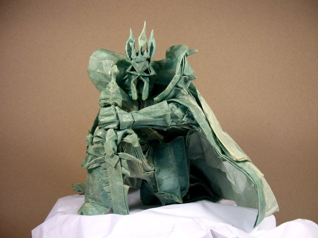 Lich King - Nguyen Tuan Anh | Super complex origami world ...