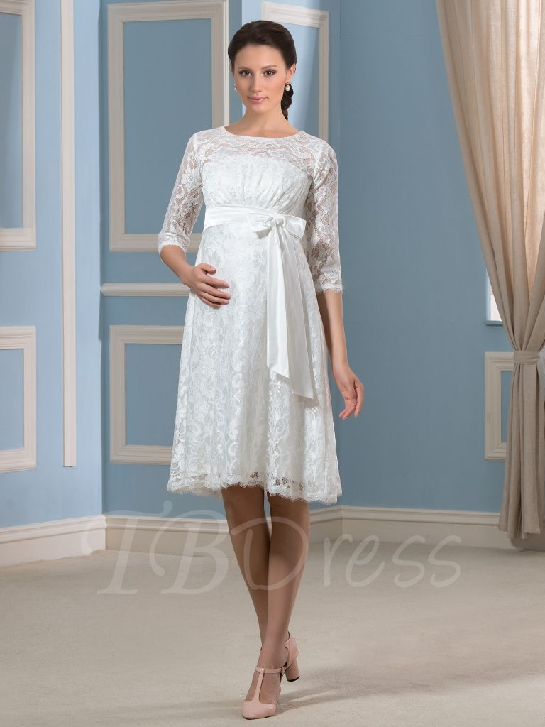 Magnificent Casual Maternity Wedding Dresses Adornment - Wedding ...
