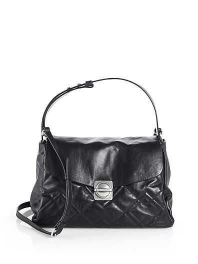 Marc by Marc Jacobs - Circle in Square Quilted Shoulder Bag - Saks.com