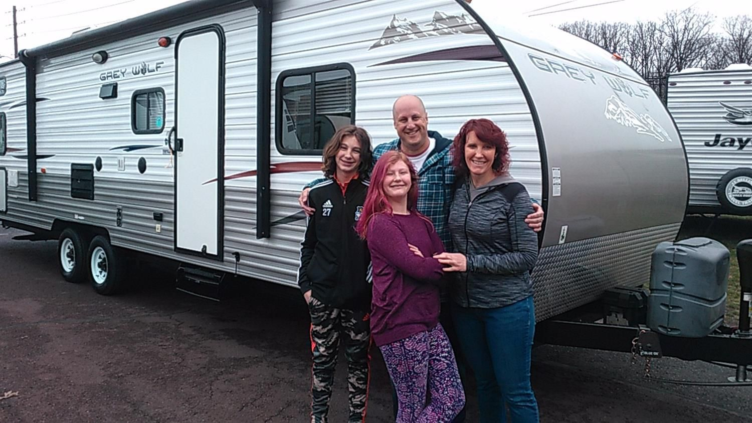 Thank You Jim And Amanda For The Opportunity To Help You With Your New 2013 Forest River Grey Wolf All The Bes In 2020 Forest River Recreational Vehicles Grey Wolf