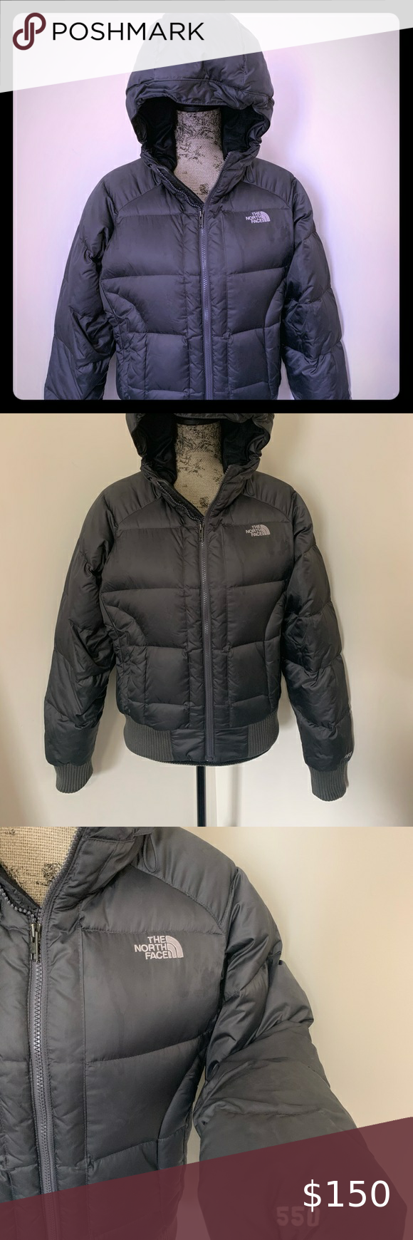 Like New Woman S The North Face Jacket In 2020 North Face Jacket The North Face Black North Face [ 1740 x 580 Pixel ]