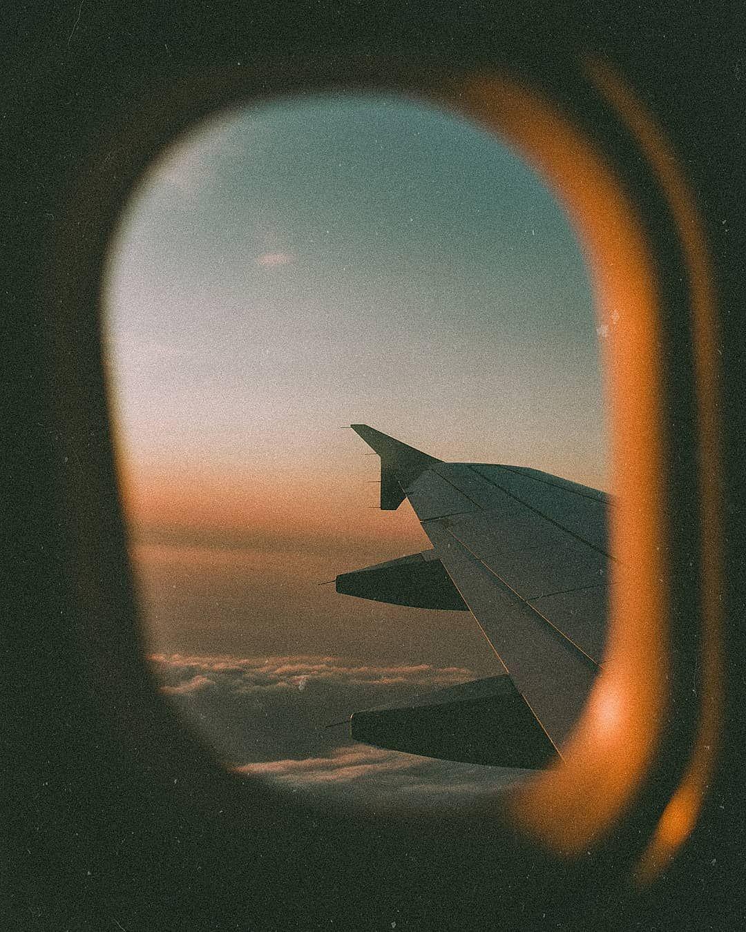 Sky Aesthetic Instagram Adventure Travel Traveling Vintage Airplane Tumblr Aesthetic Tumblr Sky Aesthetic Sky Adventure Rainbow Photography