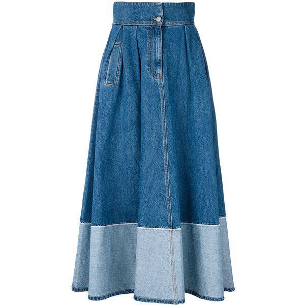 DENIM - Denim skirts Andrea Ya'aqov New Styles Sale Official Cheapest DbXGxy