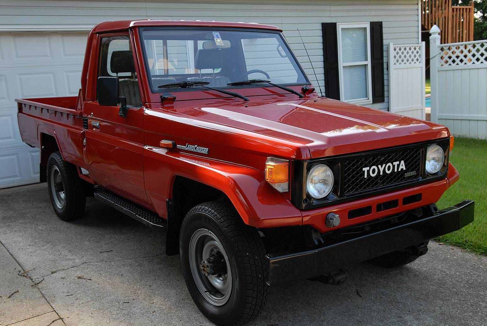 Learn More About Diesel Pick Up: 1988 Toyota Land Cruiser On Bring A  Trailer, The Home Of The Best Vintage And Classic Cars Online.