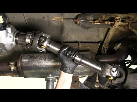 Slip Yoke Eliminator And Driveshaft Install On Jeep Wrangler Tj Jeep Wrangler Tj Jeep Wj Jeep Yj