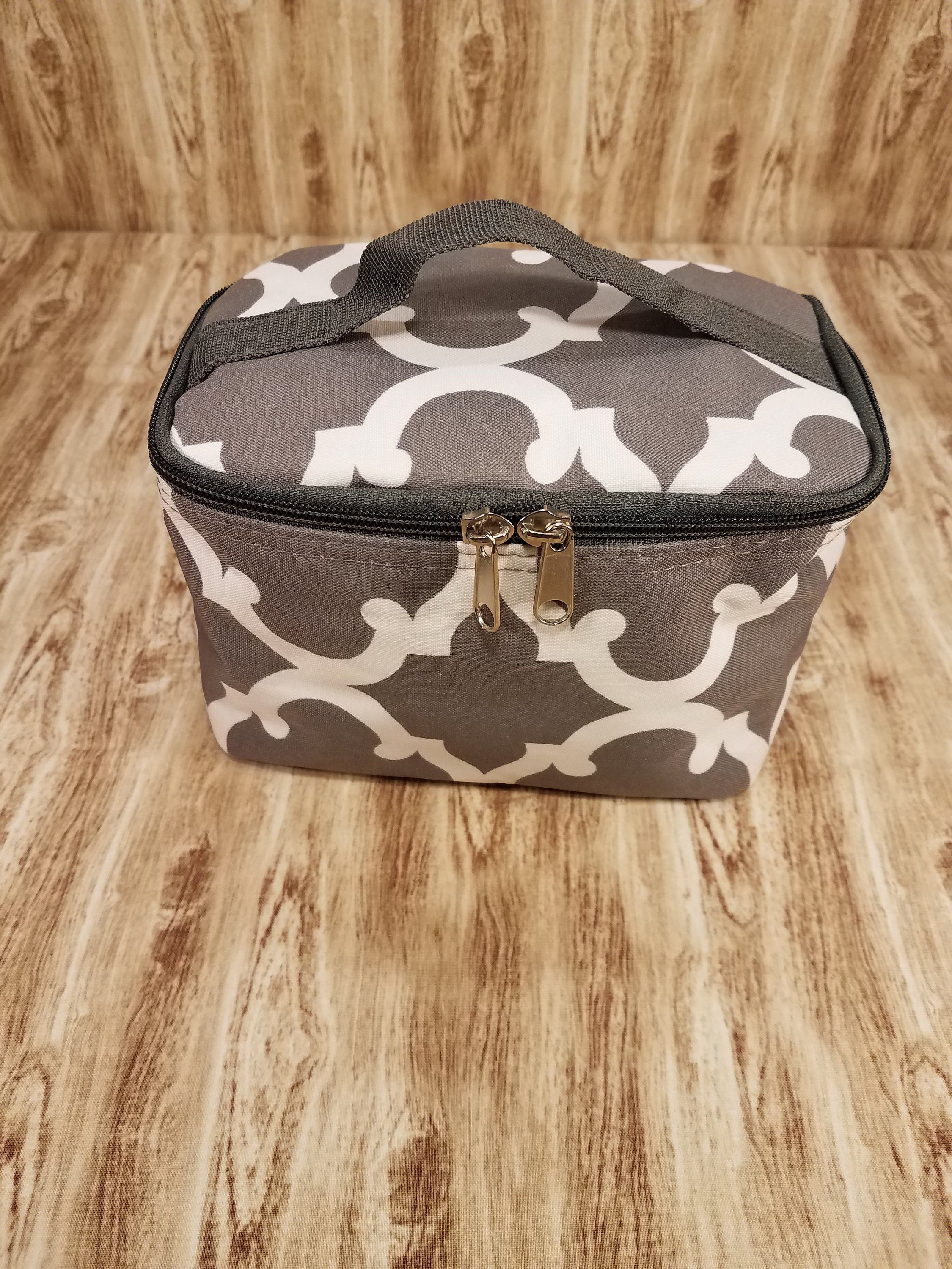 Personalized Train Case Monogrammed Makeup Bag