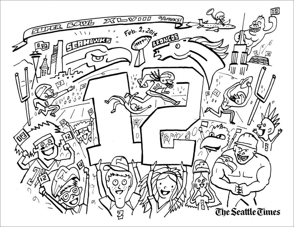 http://colorings.co/seahawks-coloring-pages/ #Coloring, #Pages ...