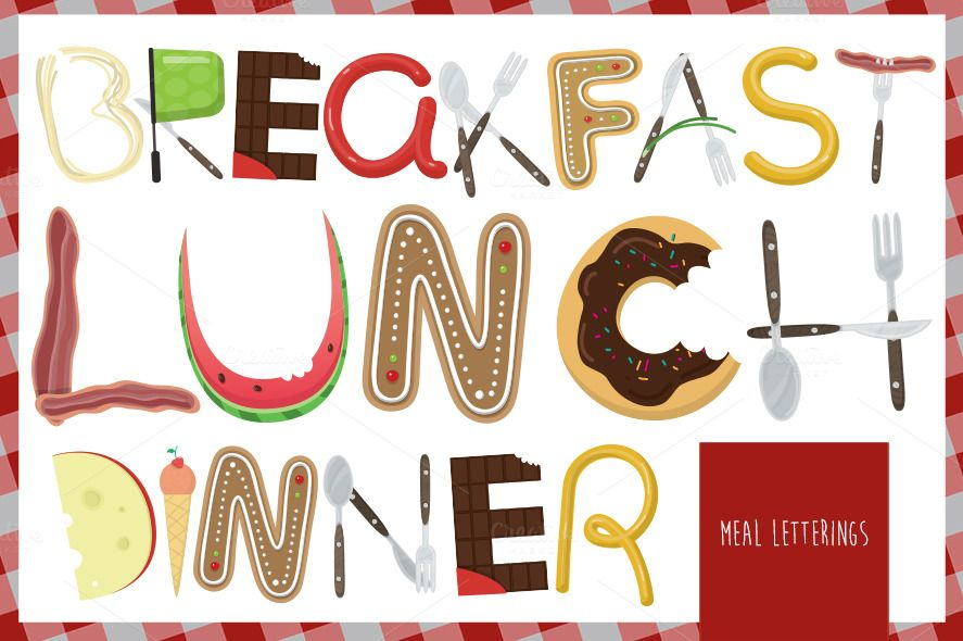 Meal Lettering Meals And Lettering   Meal Voucher Template  Meal Voucher Template