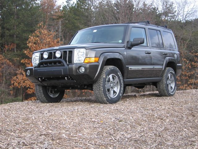 jeep commander suspension lift kits by the experts at. Black Bedroom Furniture Sets. Home Design Ideas