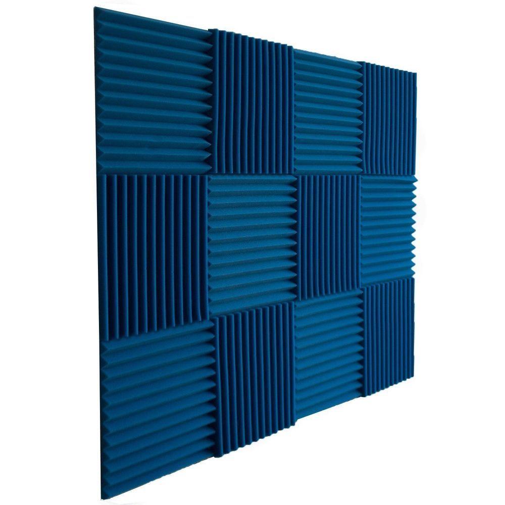 New 12 Pcs Acoustic Wall Panels Blue