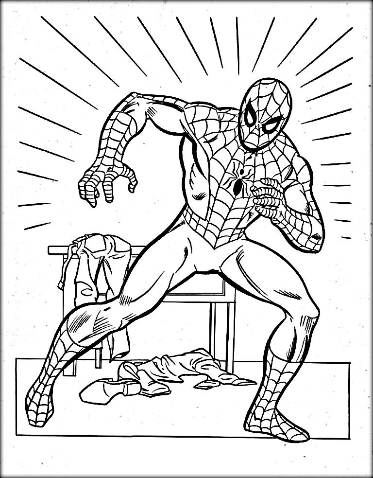 Spiderman Colouring Pages Spiderman Coloring Colouring Pages Online Coloring Pages