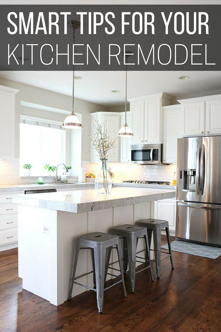 Smart Tips For Your Kitchen Remodel To Consider  Kitchens Simple Small Remodeled Kitchens Ideas Decorating Inspiration