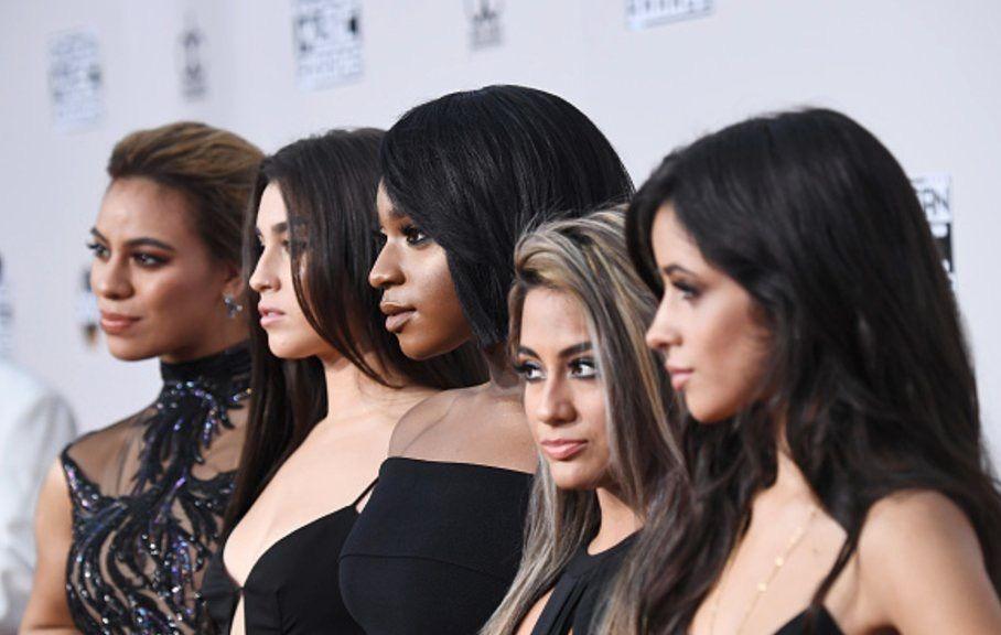 Fifth Harmony AMA red carpet