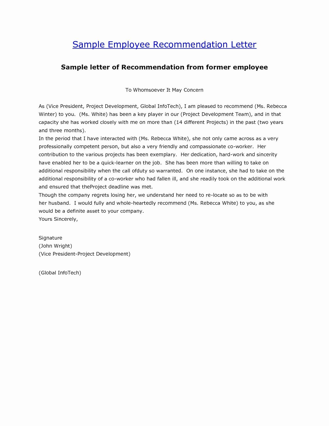 40 Employment Letter Of Template in 2020