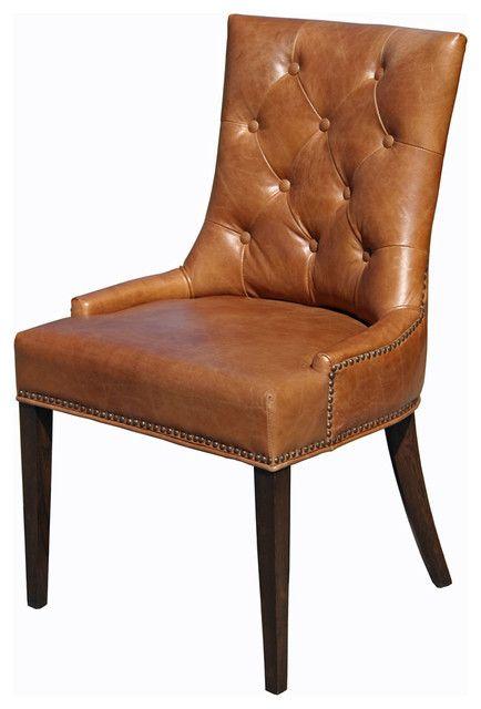 Braun Stuhl Design Ideen Stühle Leder esszimmer stühle