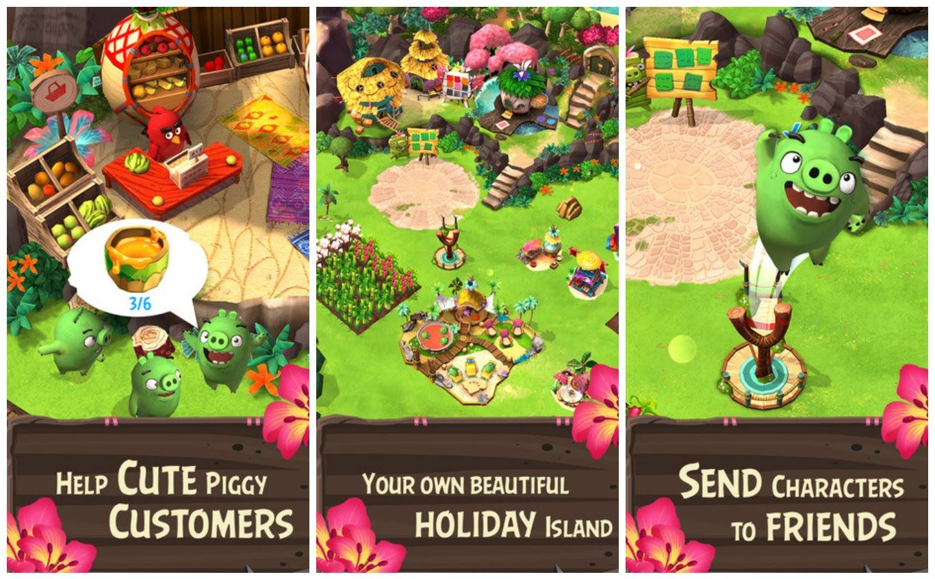 holiday island apk gameplay