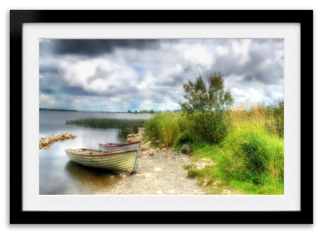 """""""On the shore of Lough Ree"""" by Anne Costello, LokoFoto.com."""