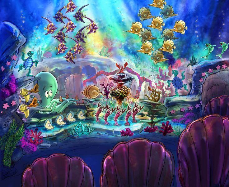 LITTLE MERMAID Disney Fantasy Animation Cartoon Adventure Family 1littlemermaid Ariel Princess Ocean Sea Underwater Wallpaper Background