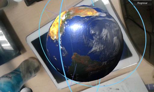 Aplicación que utiliza la tecnología de Realidad aumentada, interactúa con marcadores que ejecutan hologramas en 3D sobre planetas en el dispositivo móvil. La aplicación Planetas eek, es un complemento que ofrece la revista de divulgación científica del Consejo Zacatecano de Ciencia, Tecnología e Innovación.  http://Mobogenie.com
