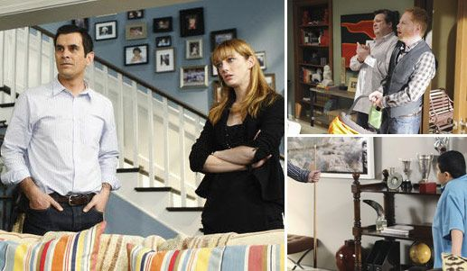 Interior Decorating Tv Shows i wish i lived here: the 'modern family' houses   modern family
