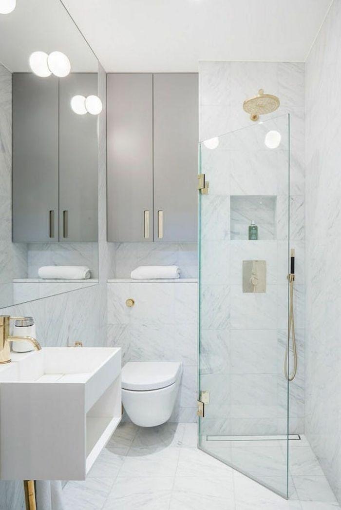 1001 ideas de decoracion para ba os peque os con ducha - Mamparas de bano sevilla ...