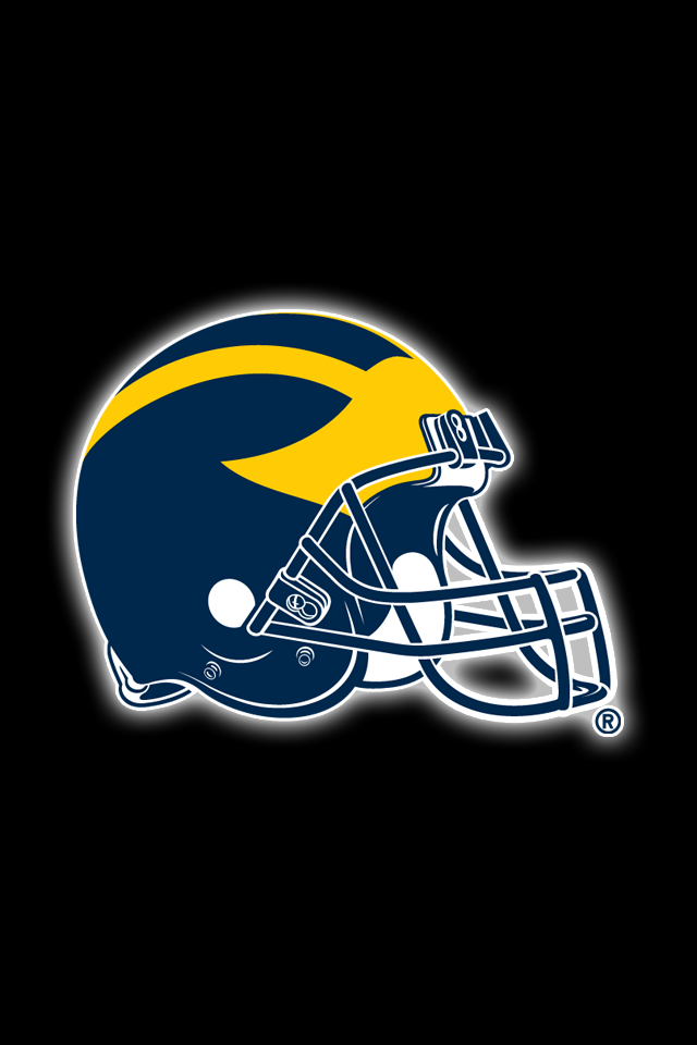 Get A Set Of 12 Officially Ncaa Licensed Michigan Wolverines Iphone Wallpapers Sized For Any Michigan Go Blue Michigan Wolverines Michigan Wolverines Football