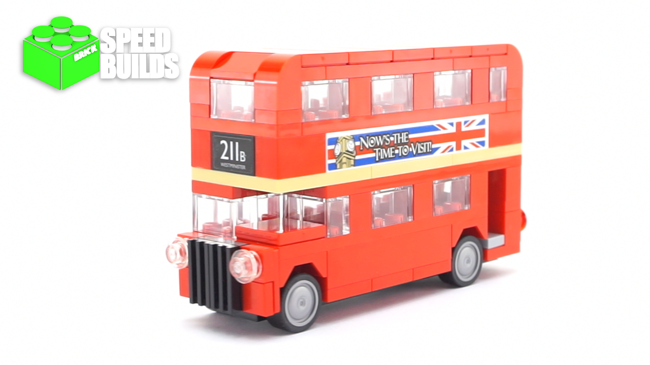 lego creator mini london bus august 2016 promo lego 40220 speed build lego pinterest. Black Bedroom Furniture Sets. Home Design Ideas