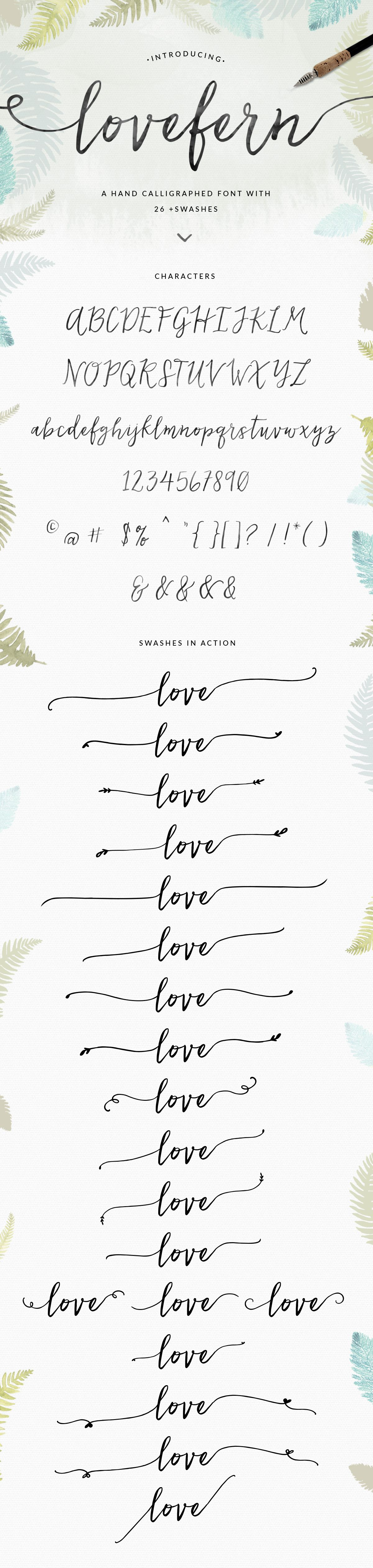 Pretty Modern Calligraphy Swash Font Design by Angie Makes. This would be great for so many graphic design projects. Can't you see this font on wedding invitations, blogs, logos, galore. YES!