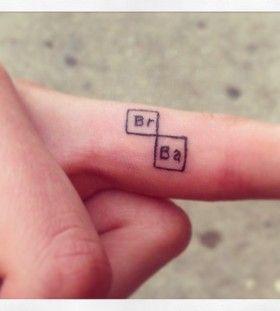 Resultado de imagen de tattoo breaking bad