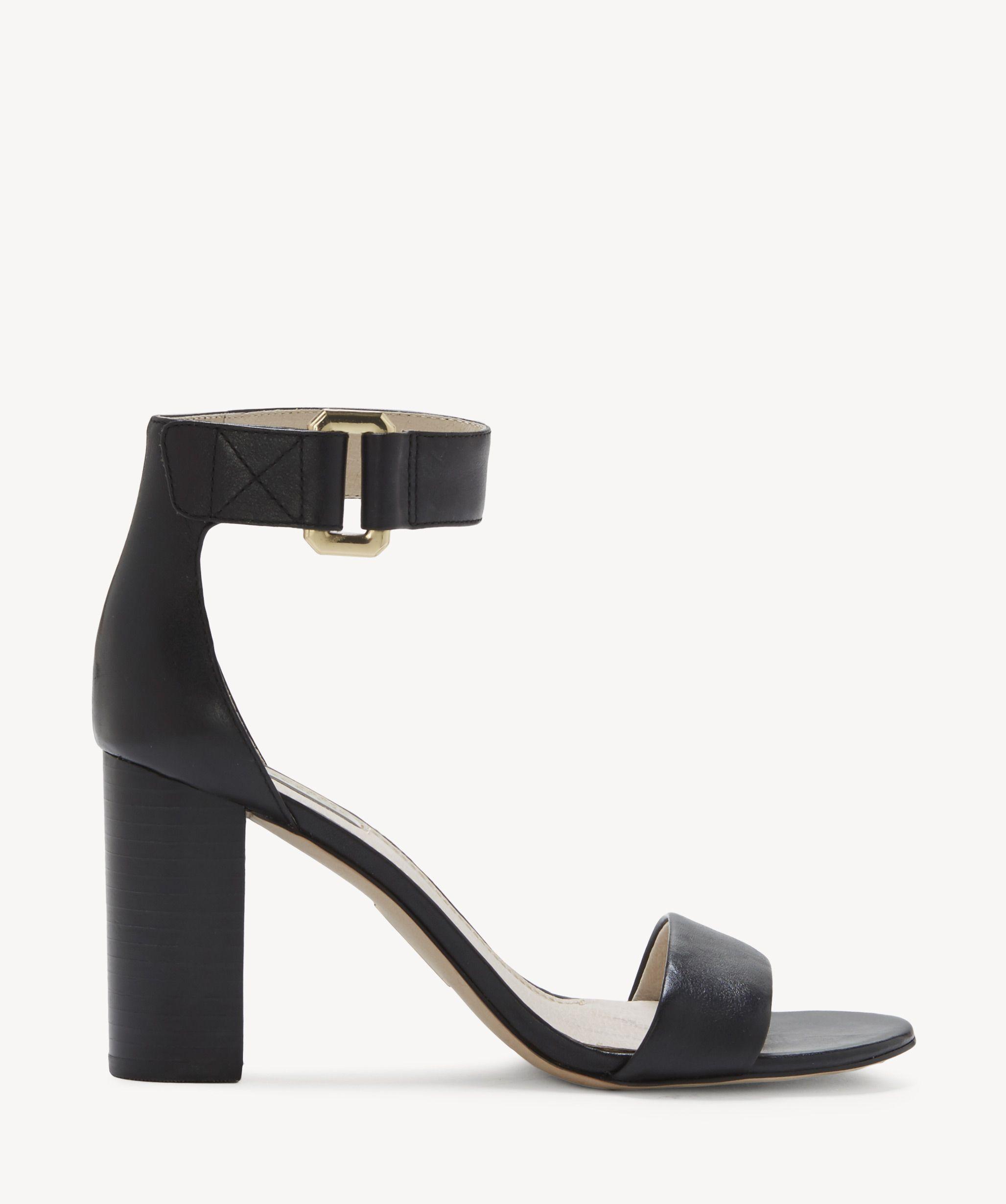 97a7179d5bf Louise Et Cie Kai Ankle Strap Sandals Black