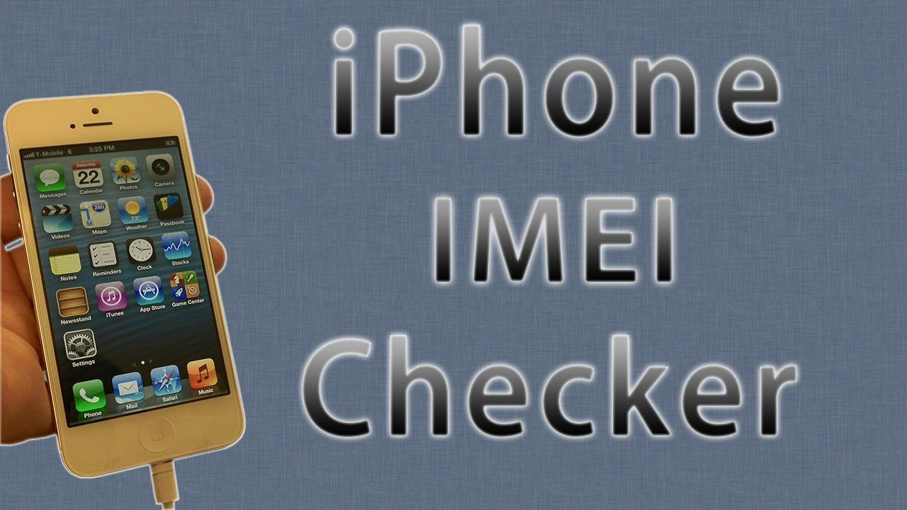 iPhone IMEI Checker with iPhone Unlock & Carrier Checker