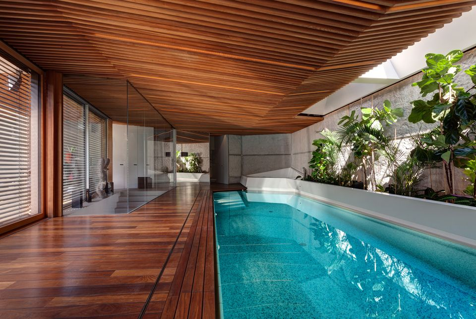 Gallery of Home Spa   architektisk - 4 Spa, Openness and Swimming