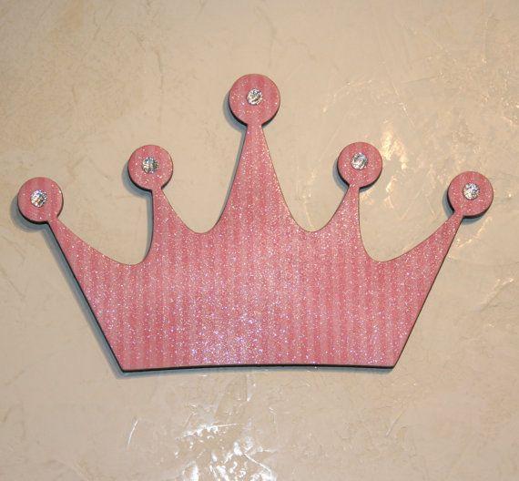 Pin By Karen Crawn On Home Decor: Pink Princess, Princess Crown Wall Decor , Pink Wall Decor