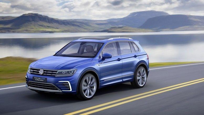 Volkswagen Tiguan Gte Active Concept Revealed At Detroit Volkswagen Suv Car