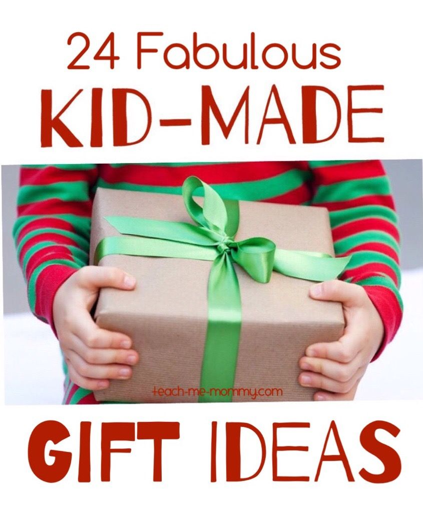 24 Fabulous Kid-made Gift Ideas | Regalos | Navidad ... - photo#30