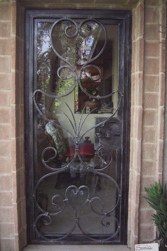 Extrêmement porta ferro battuto e vetro - Cerca con Google   ferro battuto  LN04