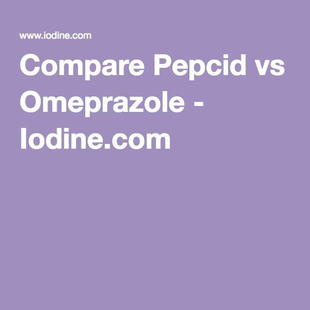 Compare Pepcid vs Omeprazole - Iodine.com (With images ...